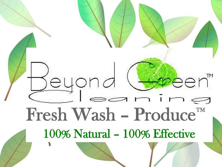 Fresh Wash – Produce