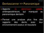 dentascanner panoramique