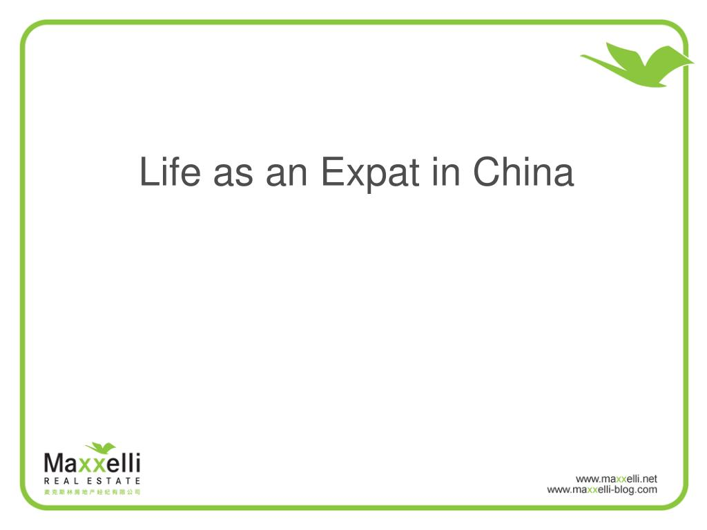 Life as an Expat in China
