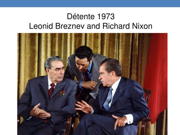 Détente 1973