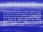 artigo 28 a n 1 do cpc litiscons rcio do lado activo