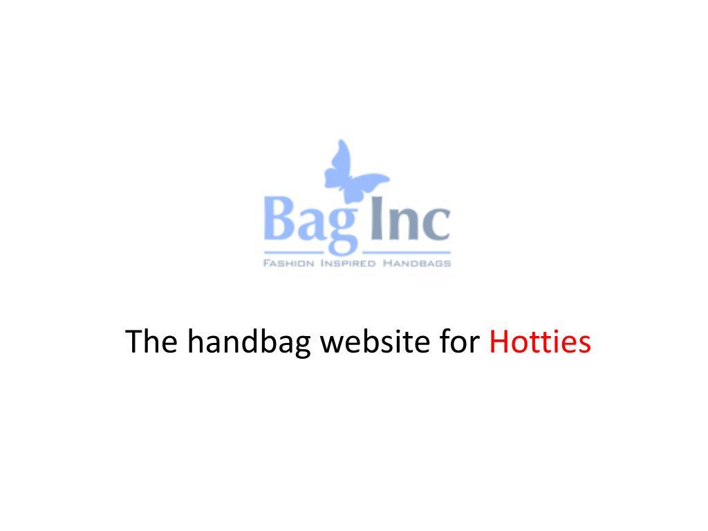 The handbag website for