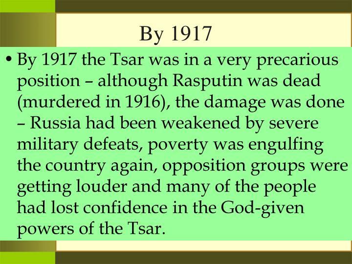 By 1917
