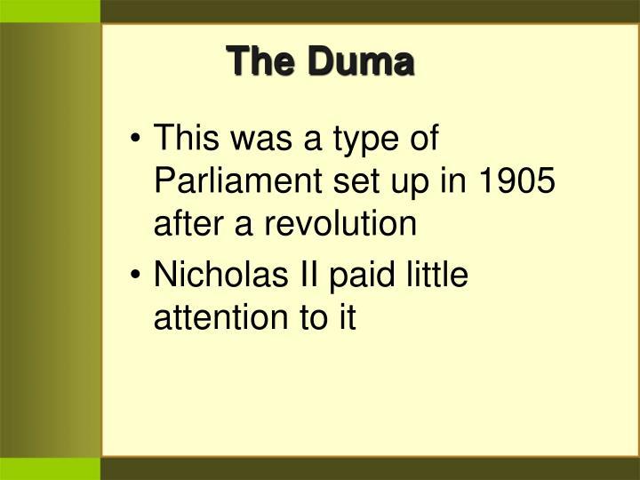 The Duma