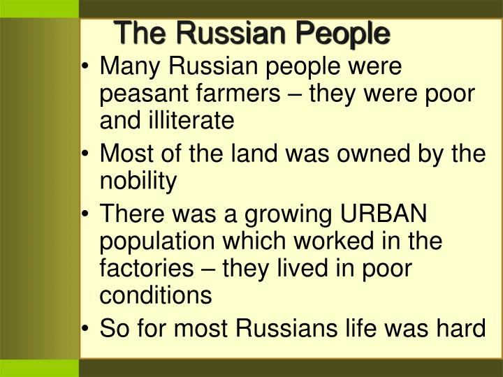 The Russian People