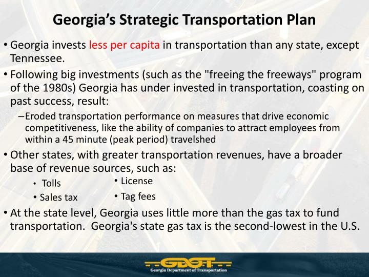 Georgia's Strategic Transportation Plan