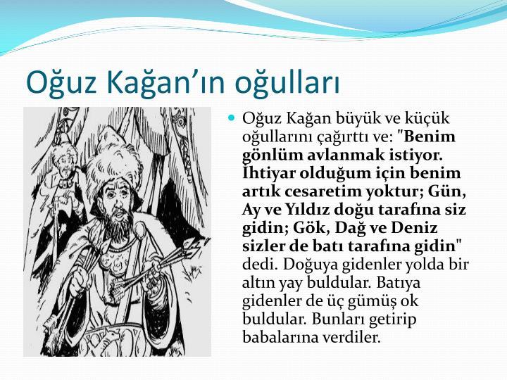 Ouz Kaann oullar