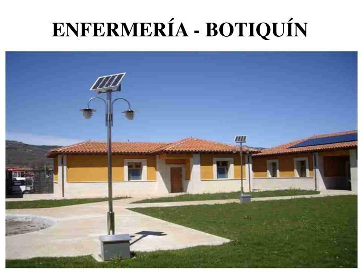 ENFERMERÍA - BOTIQUÍN