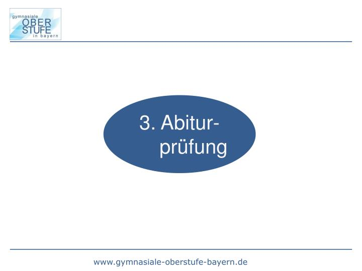 3. Abitur-