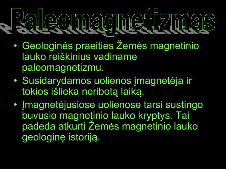 Paleomagnetizmas
