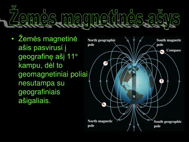 Žemės magnetinės ašys