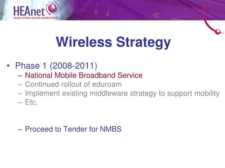 Wireless Strategy