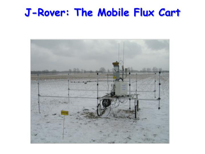 J-Rover: The Mobile Flux Cart