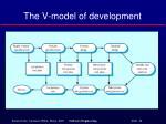 the v model of development
