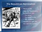 the republican nomination