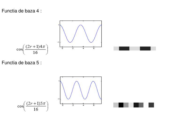 Functia de baza 4: