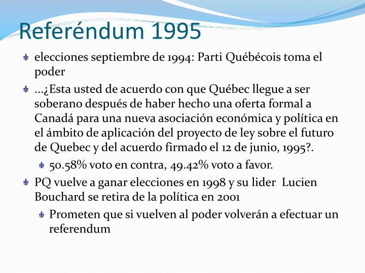 Referéndum 1995
