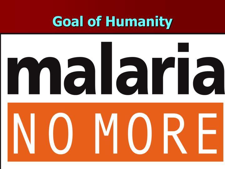 Goal of Humanity