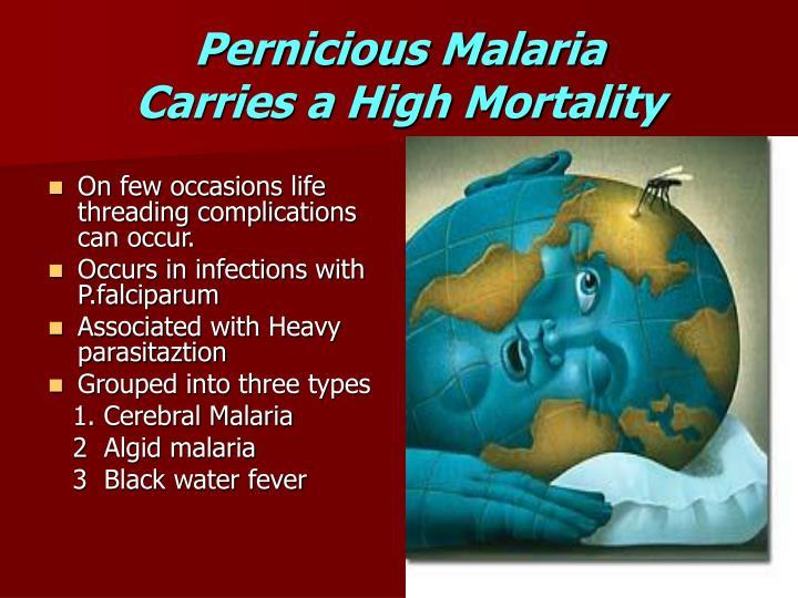 Pernicious Malaria