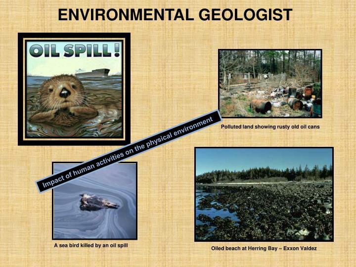 ENVIRONMENTAL GEOLOGIST
