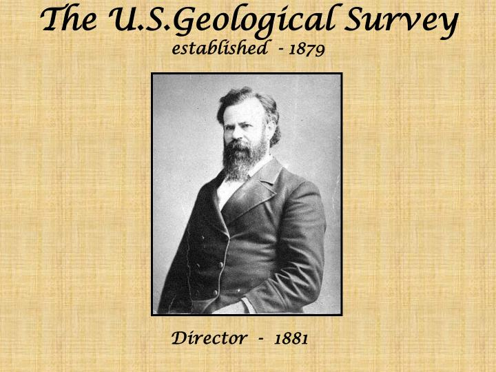 The U.S.Geological Survey