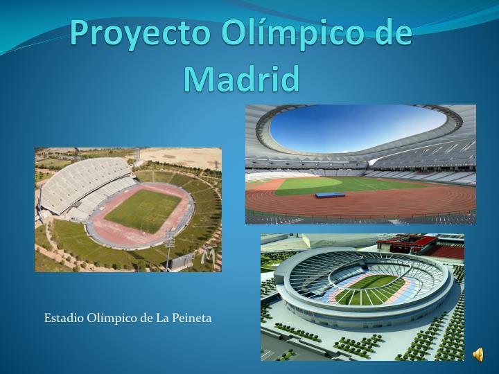 Proyecto Olímpico de Madrid