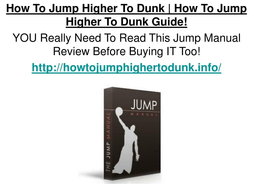 How To Jump Higher To Dunk | How To Jump Higher To Dunk Guide!