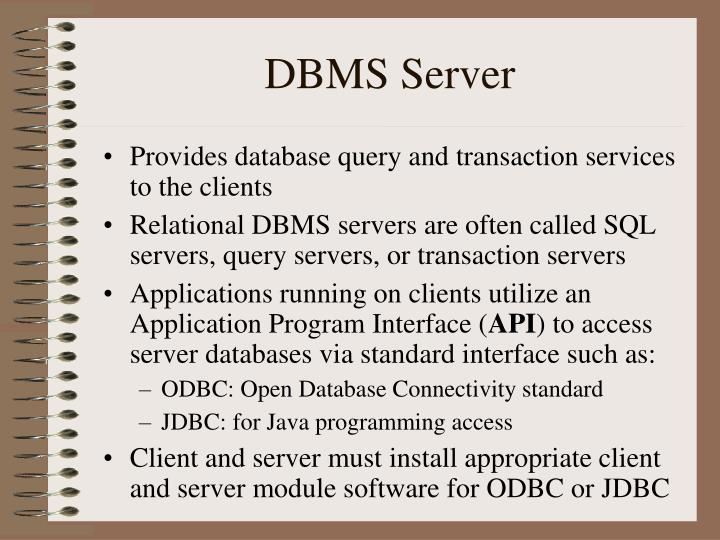 DBMS Server