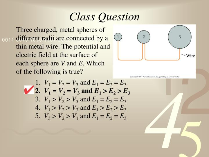 Class Question