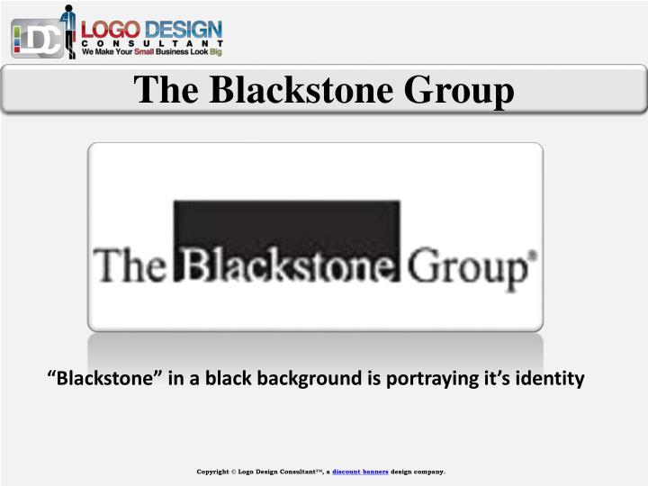 The Blackstone Group
