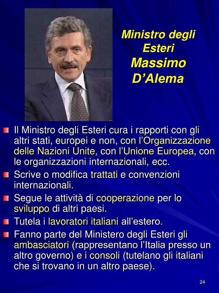 Ministro degli Esteri