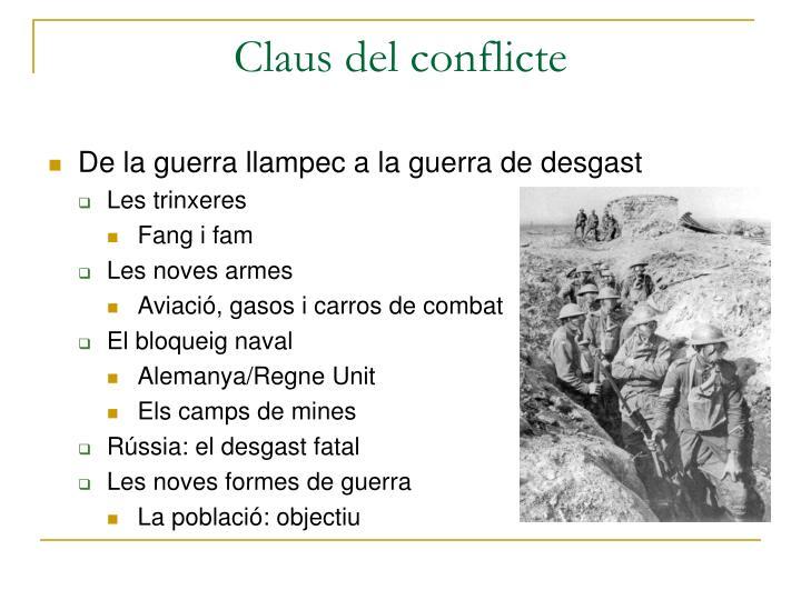 Claus del conflicte