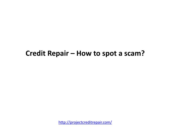 Credit repair how to spot a scam l.jpg
