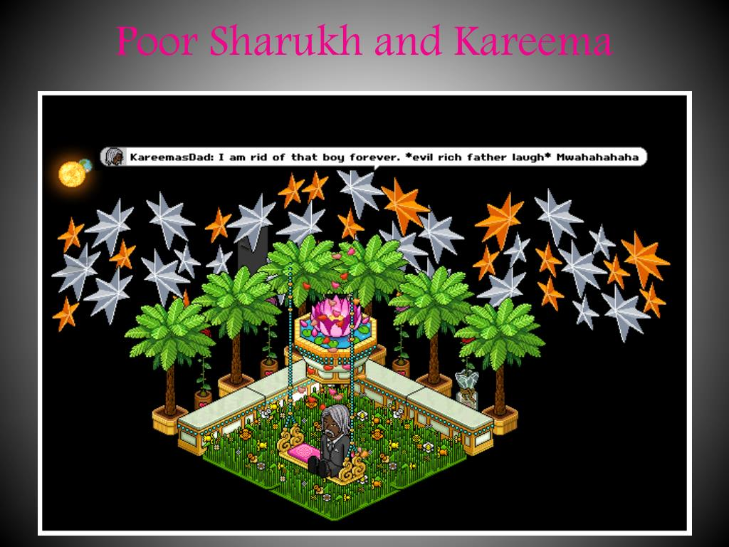 Poor Sharukh and Kareema