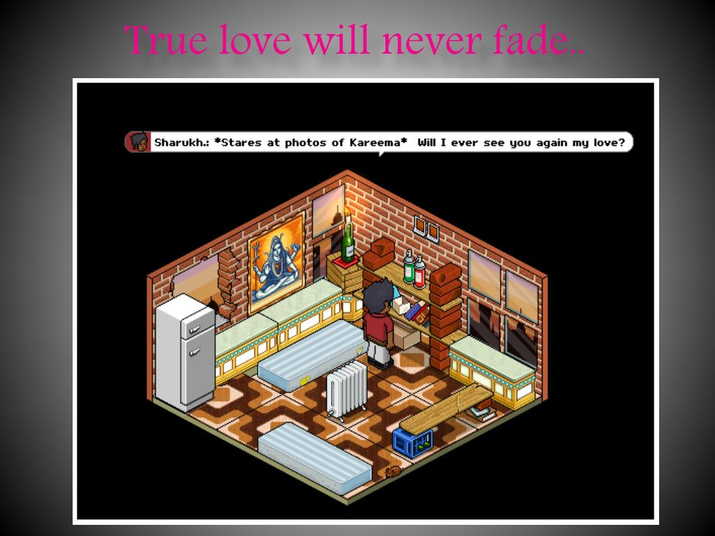 True love will never fade..