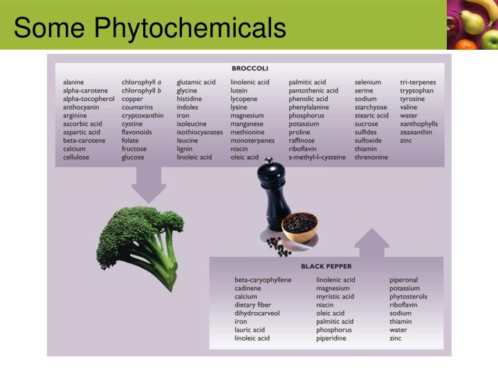 Some Phytochemicals