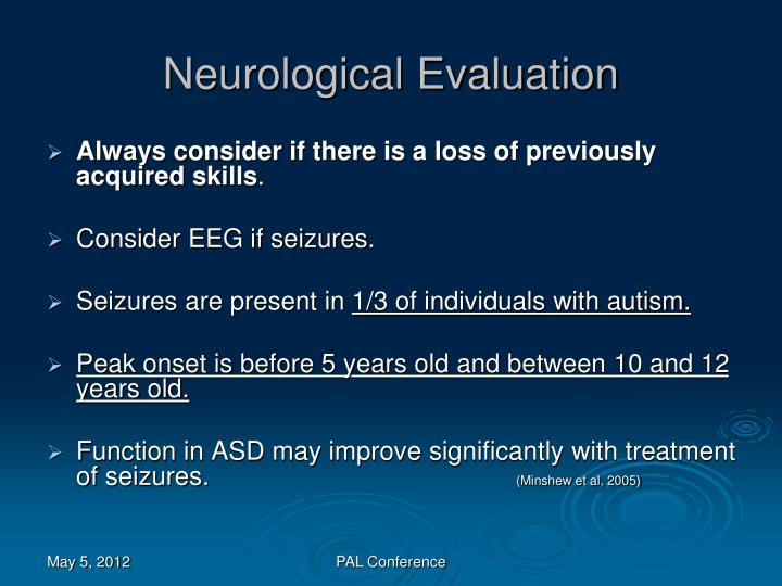 Neurological Evaluation