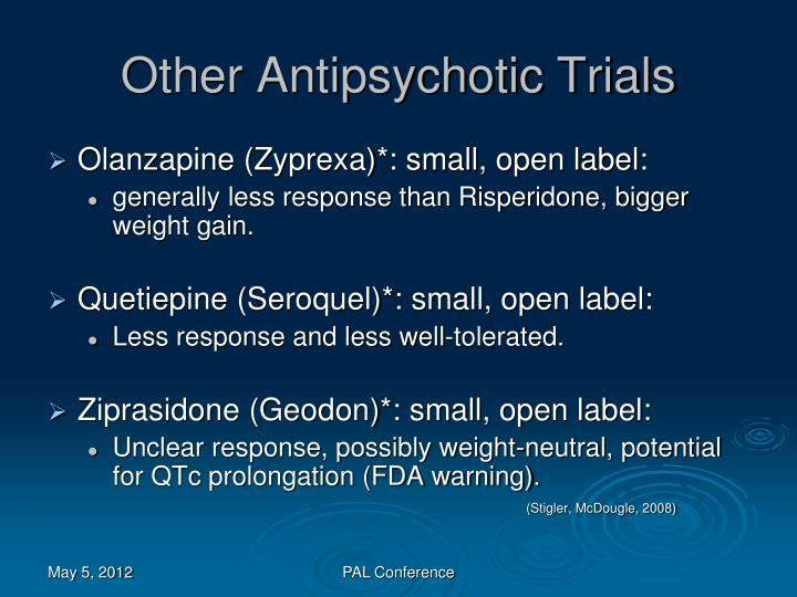 Other Antipsychotic Trials