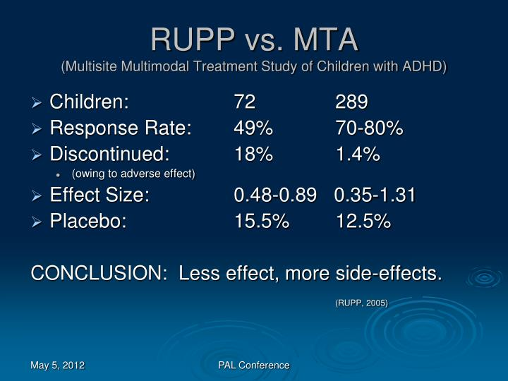 RUPP vs. MTA