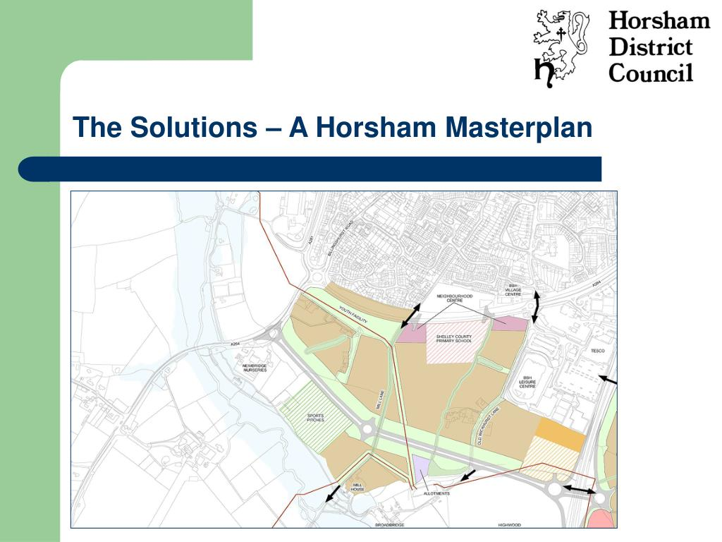 The Solutions – A Horsham Masterplan