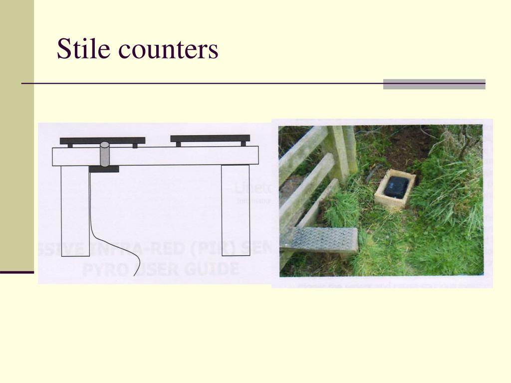 Stile counters