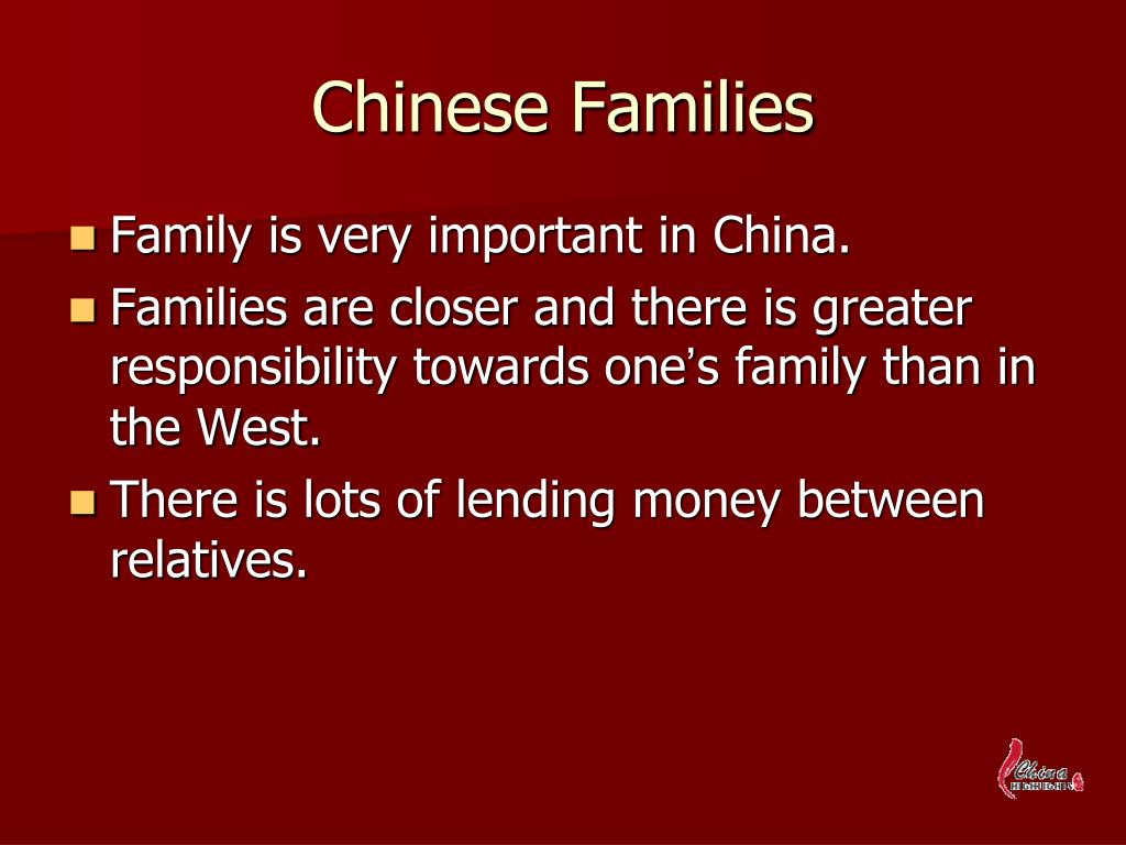 Chinese Families
