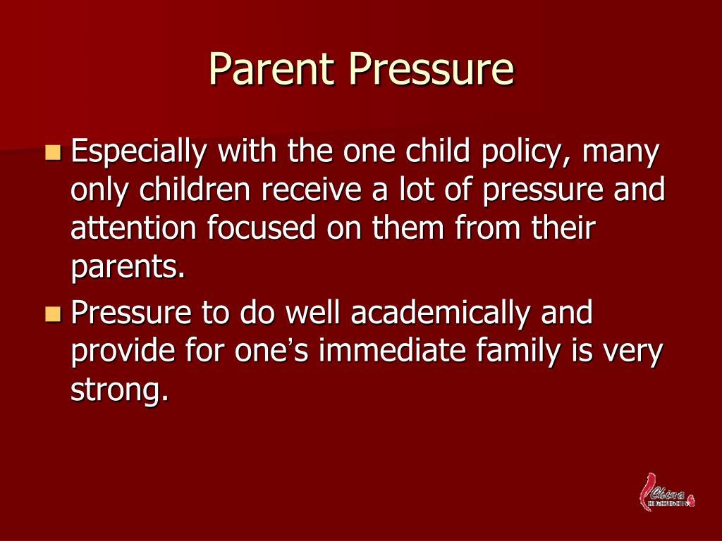 Parent Pressure