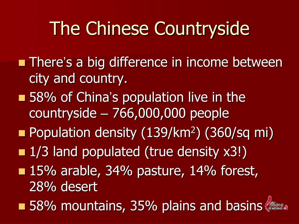The Chinese Countryside