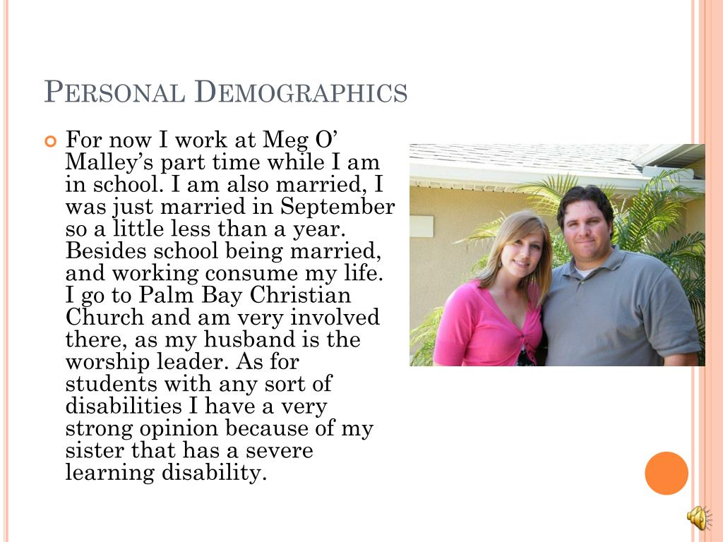 Personal Demographics