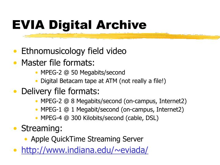 EVIA Digital Archive