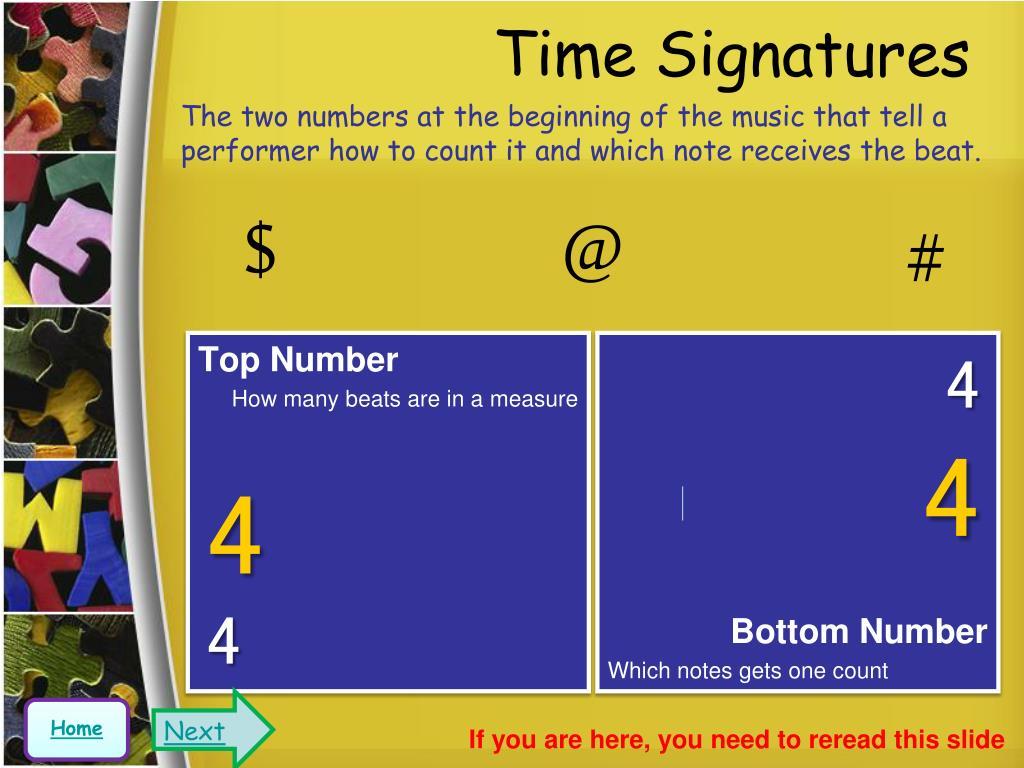 Time Signatures