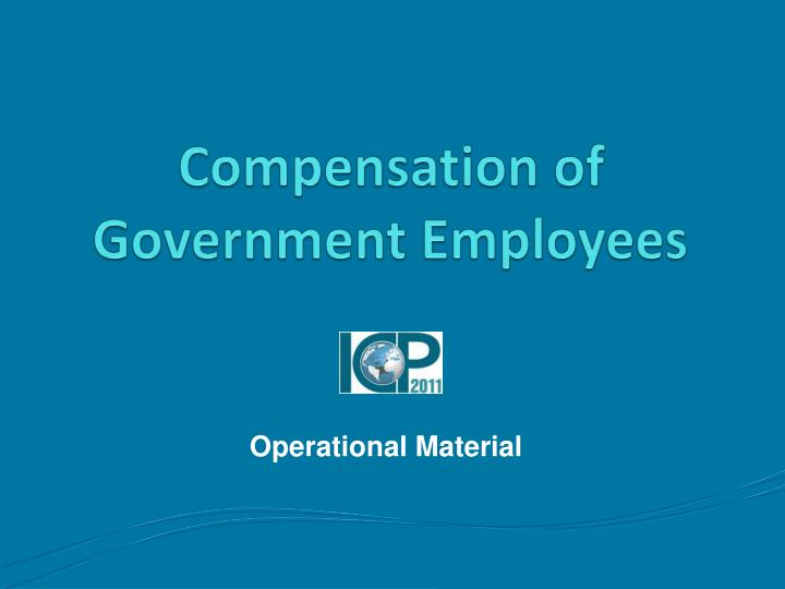 Compensation of Government Employees