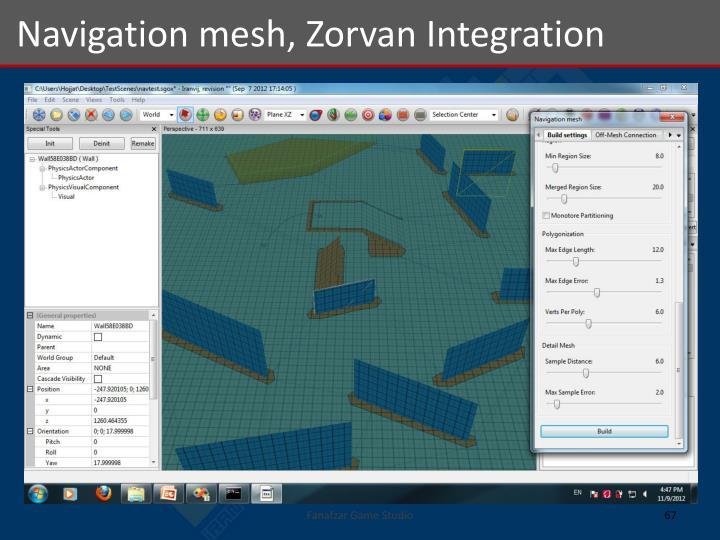 Navigation mesh,