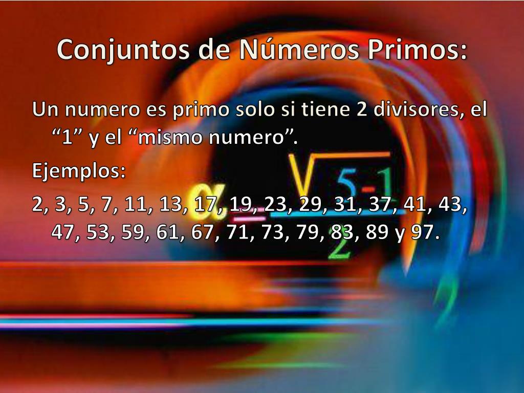 Conjuntos de Números Primos: